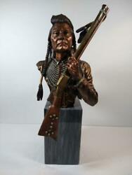 C.a. Pardell No More Forever Chief Joseph Legends Mixed Media Sculpture 661/950