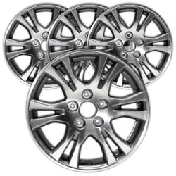 17 Machand039d W/charcoal Vents Rim By Jte For 11-13 Honda Odyssey 17x7 [set Of 4]