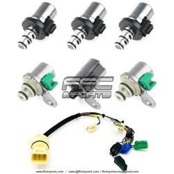 Fnr5 Fs5a-el A, B, C, D, E Shift And Epc Solenoid Set With Internal Wire Harness