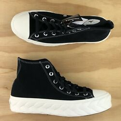 Converse Chuck Taylor All Star Lift Cable Black Platform Sneakers 568687c Size
