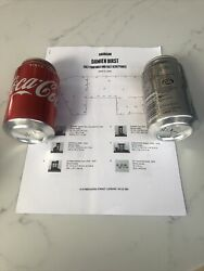 Damien Hirst Gagosian Coke Can Full Set With Banksy Pic
