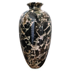 Amphora Table In Marble Leather Of Tiger Skin Marble Table Amphora H56cm