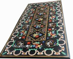 30 X 60 Inches Marble Dining Table Top Royal Pattern Living Room Table For Home