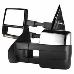 Premium Fx Chrome Power/heated Towing Mirrors For 2009-2010 Ford F-150