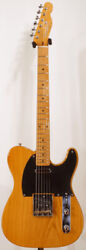 Used Fender Japan 1989 Tl52-700 Vnt Natural Electric Guitar Free Shipping
