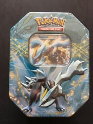 Black Kyurem Ex Tin 2013 New And Factory Sealed Tcg Ccg - 4 Booster Packs