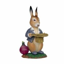 Bunny Rabbit With Onion And Basket Easter Life Size Statue