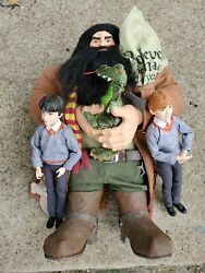 Harry Potter Rubeus Hagrid Doll 15, Harry And Ron Dolls
