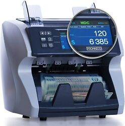 Money Cash Bill Counter Machine Cash Value For Multiple Currency, Brand New