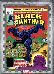 [digital Card] Topps Marvel Black Panther 7 Classic Vol. 2 Covers Silver