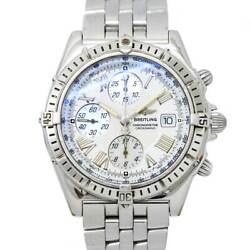 Breitling Crosswind A13355 Chronograph Date White Dial Mens Watch 90123773