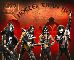 Rock Iconz Kiss Hotter Than Hell Set 4