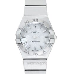 Omega Constellation 123.10.24.60.05.001 Mother Of Pearl Dial Ladyand039s Watch
