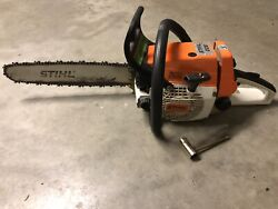 Vintage stihl 026 Chainsaw With 1 Chain, Manualhardly Used