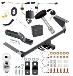 Reese Trailer Tow Hitch For 2021 Pacifica Hybrid Delux Pkg Wiring 2 Ball + Lock