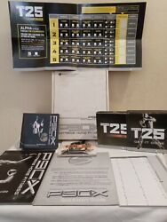 P90x Extreme Home Fitness The Workouts 10 Extreme Training Routines Plus T25 Lot