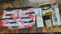 Modella Cosmetic Zippered Bag With 4 Makeup Items Free Shipping $14.99