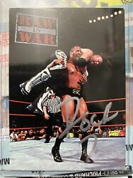 The Rock Autographed Comic Images Duocards Trading Card