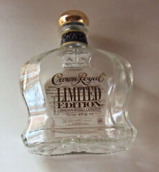 Crown Royal Limited Edition Canadian Canadien Whiskey Bottle Empty 750 Ml