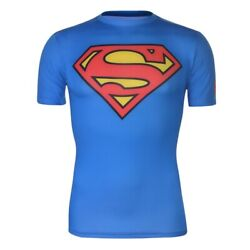 Under Armour Superman Alter Ego Compression Shirt Adult Xl. Discontinued. Rare.