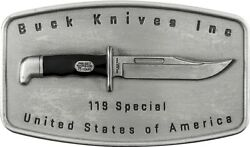 Buck Knives Usa 119 Special Belt Buckle-75th Commemorative-limited Edition 500