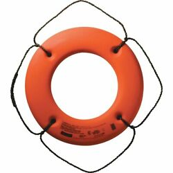 Cal-june Uscg Approved Hard Shell Series Life Ring 30 Orange Hs-30 O