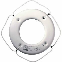 Cal-june Uscg Approved Hard Shell Series Life Ring 20 White Hs-20 W