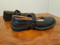 Born Handcrafted Womenand039s Loafers. Size 5 M/w. Black.