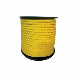 Extreme Max Twisted Polypropylene 3/8 600and039 Yellow 3006.2240