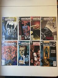 Gotham Central 1-4 And 37-40 2003 1st Four And Last Four Issues Dc Comics Hbo