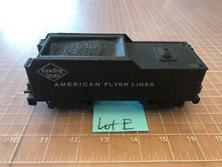 American Flyer Lines S Train Weighted Readling Tender 21000 21105 21160 Lot E