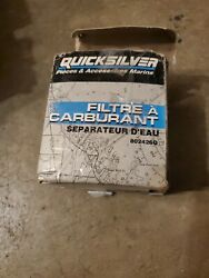 Quicksilver Water Separating Fuel Filter Element Mercury Unspecified