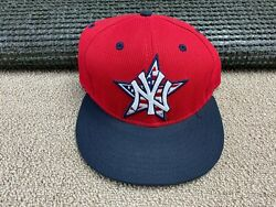 New York Yankees New Era Hat Fitted 7 1/4 59fifty American Flag Batting Practice