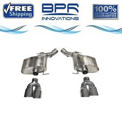 Corsa 304 Ss Axle-back Exhaust System Quad Rear Exit For Bmw M5 13-16 14934