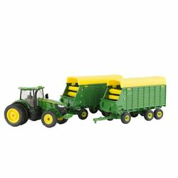1/64 7290r Tractor With Forage Wagons Lp70546