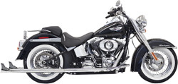 Bassani Fishtail True Dual Exhaust System With Baffles - 1s66e-36 - 18001744