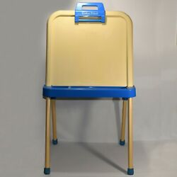 Extremely Rare Vintage Fisher Price 9501 Easel Desk Child Home School 0421