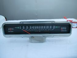 Nos Very Rare 1963-64 Pontiac Full Size Cars Dashboard Speedometer Cluster