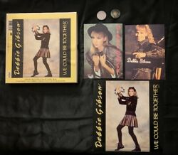 Debbie Gibson We Could Be Together Le Collectors Box W/ Postcards And Badges
