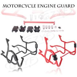Engine Guard Highway Crash Bar For Bmw F800gs/f700gs 2013-2016 2017 Black/red