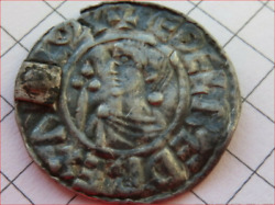 Aethelred Ii 978-1016 Small Crux Type Penny London Mint