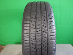 Single-used-235/55r19 Continental Cross Contact Lx Sport 101h 8/32 Dot 4318
