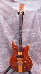 Used Ibanez Mc500 Natural Electric Guitar Free Shipping