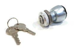 Ignition Switch With 2 Keys For Cart Parts Cp17421-g1 Cp17421g1 Utility Vehicle