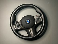 Bmw 5and6and7andxser G30/g11/g14/g01/g05 M-tech Steering Wheel W/vibroandpaddles 93s