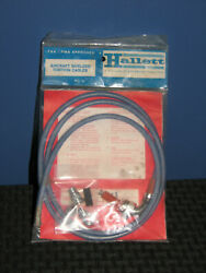 Hallett Livingston Aircraft Shielded Ignition Cables Model 53002-f-48-1 New