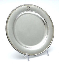 Kalo Sterling Silver Bread And Butter Plate Hand Wrought 7 Oz Style Bb6