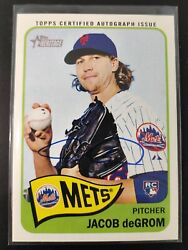 2014 Topps Heritage Real One Autographs Roajd Jacob Degrom Mets Rc Rookie