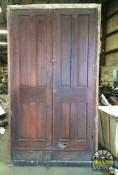 Large Built In Cupboard 1890 West Virginia Ranch Salvage 105 X 59