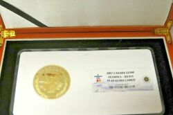 Canada 2007 Gold 300 Ngc Pf69uc Vancouver Olympics - Olympic Ideals